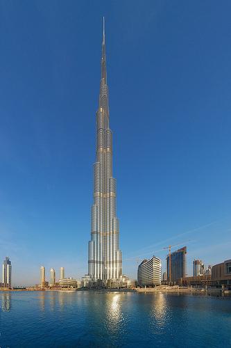 La estructura más alta construida por el hombre!